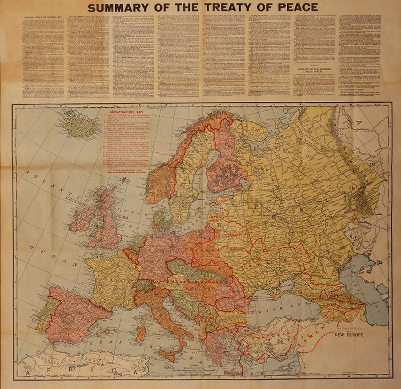 The Rand McNally Map of New Europe Barron Maps