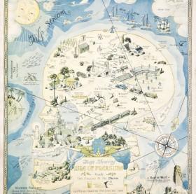 US Comic Maps The Prohibition Era Archives Barron Maps - Map of us 1920