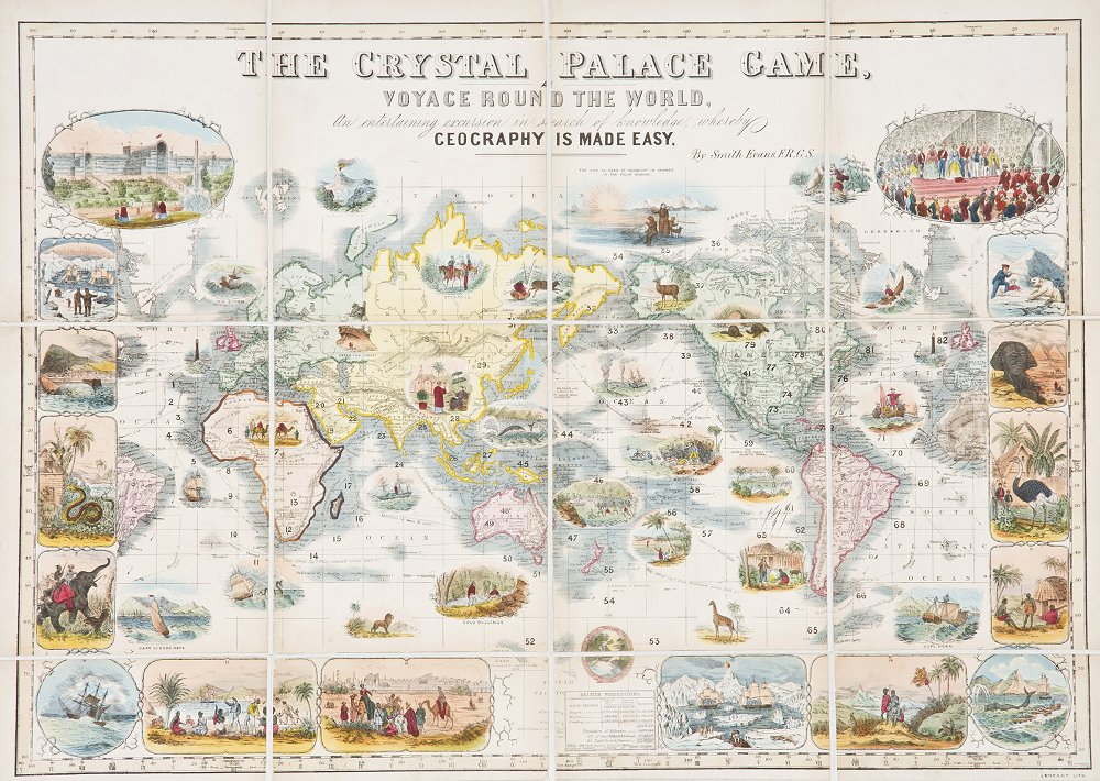 The crystal palace game 1854 barron maps the gumiabroncs Choice Image