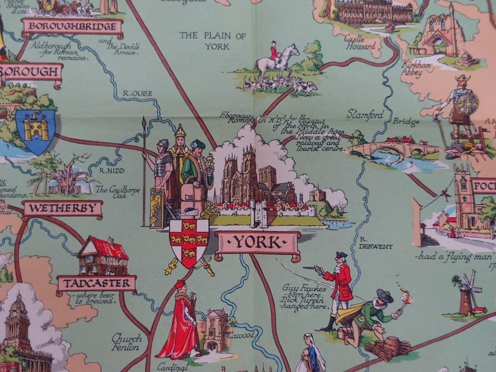 Estra Clark 1904 1993 York Artist And Pictorial Cartographer